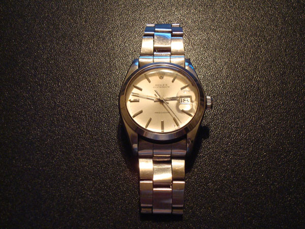 rolex oysterdate. Should I go to Rolex AD or a